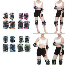 1 Pack Adult Elbow Knee Pads Protector for Roller Skating Sc