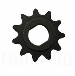 11 Tooth Sprocket - Dual D Bore - #25