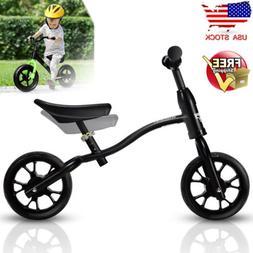 "12"" Kids Balance Bike Child No Pedal Bicycle Ride Toys Scoot"