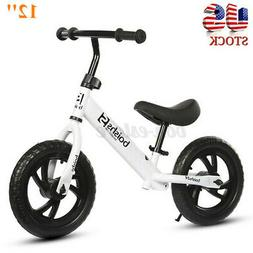 "12"" Kids Balance Bike Children No Pedal Bicycle Ride Scooter"