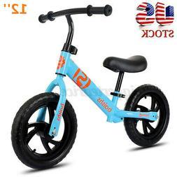 "12"" Kids Balance Bike No Pedal Bicycle Ride Scooter Toys Gif"