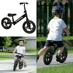 "12"" Kids Balance Bike Push No Pedal Scooter Training Learn T"
