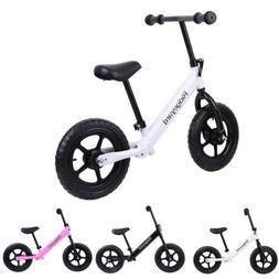 "Ridgeyard 12"" Kids Balance Bike Push No Pedal Scooter Traini"