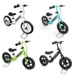 "12""Children Balance Bike Bicycle Scooter with Brakes and Bel"