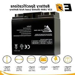 12V 18Ah SLA  Battery for Scooter Battery D5745 40648 WP18-1