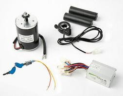 150W Scooter Electric Motor w Sprocket+Speed Controller+Thum