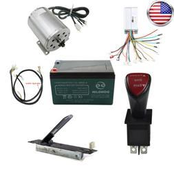 1800w 48v  Brushless Motor Speed Controller Kits for ATV Go