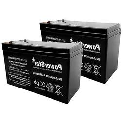 PowerStar BATTERY 9AH For 12V,7AH,RAZOR SCOOTER E300S, 2 EAC