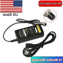 24V 2A Battery Fast Electric Scooter Charger For RAZOR E500