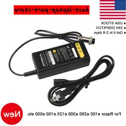 24V 2A Electric Scooter Battery Charger For RAZOR E100 E200