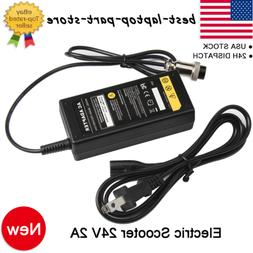 24V 2A Electric Scooter Battery Charger Power for Razor Craz