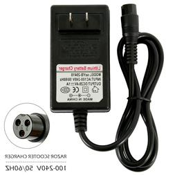 24V Electric Scooter Battery Charger For  e100 e125 e150, 3.