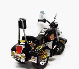 3 Wheel Chopper Trike Motorcycle for Kids, Battery Powered R