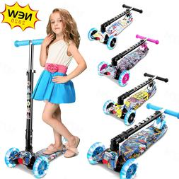 Caroma 3 Wheel Kick Scooter for Kids & Toddlers Girls Boys 3