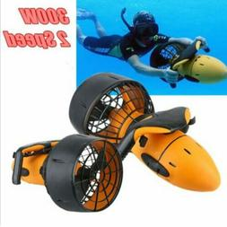 300W Electric Sea Scooter Dual Speed Underwater Propeller Wa