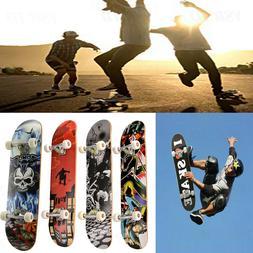 31inch Cool Design Maple Wood Skateboard Complete Longboard