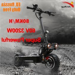 3200W 60V 80KM/H <font><b>scooter</b></font> electric 11 inc