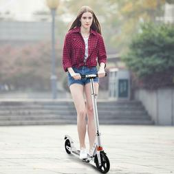 """35-39"""" Foldable Kick Scooter Adult Adjustable T-Style Push P"""