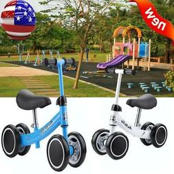 4 Wheels Kids Baby Balance Scooter Walker Scooters Training