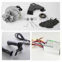 450W 24V electric 9T motor conversion kit f bicycle rear whe