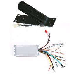 48V 1800W Brushless Speed Controller + Foot Pedal fo Go Cart