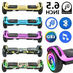 "6.5"" Electric Hoverboard Bluetooth Speaker LED Self Balancin"