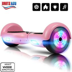 """6.5"""" LED 2-Wheel Electric Motorized Scooter Hoverboard Hoove"""