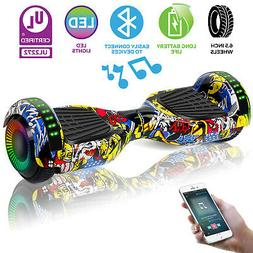 """6.5"""" Off Road Hoverboard Electric Self Balancing Scooter LED"""