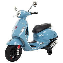 Huffy 6V Vespa Scooter Electric Ride On - Blue