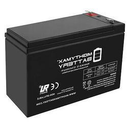 Mighty Max 12V 8Ah Scooter Bike Battery Replaces 7Ah Endurin