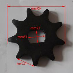 9 Tooth Sprocket Pinion Gear fit 420 Chain Unite Motor 1418Z