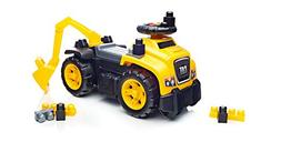 Mega Bloks Ride On Caterpillar with Excavator