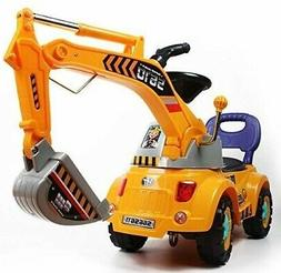 POCO DIVO Digger scooter, Ride-on excavator, Pulling cart, P