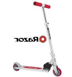 Razor A Kick Scooter - Clear/Red - FFP