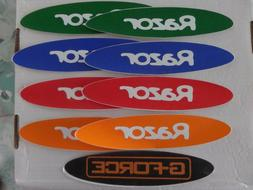 Razor A Kick Scooter, Scooter DECALS, 5 COLORS you pick lot