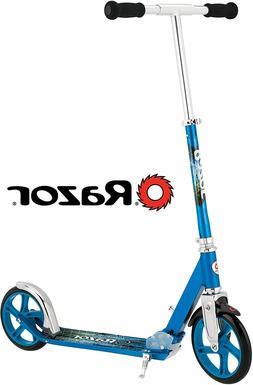 Razor A5 Lux Kick Scooter Ffp, Blue