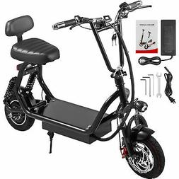 Adult Electric Scooter 12Ah 400W Up to 35km/h Commuter Scoot