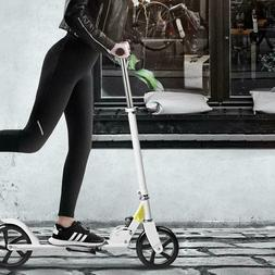 Adult Kick Scooter Foldable 3 Levels Adjustable Height 2-Whe