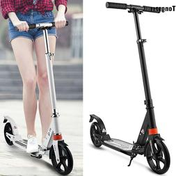 "Adult Kick Scooter Sturdy Foldable T-Style 35-39""Adjustable"