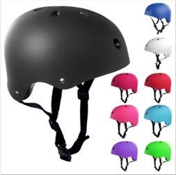 Adult Kids Skateboard Helmet&Protector For Skate BMX Scooter