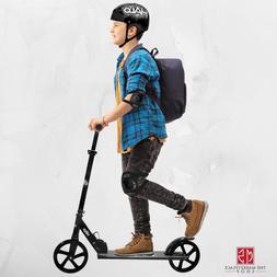 Adults Extra Large Wheels Kick Scooter Kids Boys Girls Folda