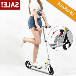 Ancheer Adults Scooter Big Wheels Scooter Easy Folding Kick