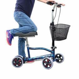 Knee Walker Steerable Medical Scooter Crutch Alternative Fol