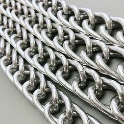Aluminum Curb Chain  20x35mm