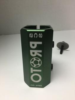 PROTO BABY SCS CLAMP - PRO SCOOTER CLAMP GREEN / TRICK STUNT