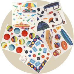 Creative Memories Block Sticker Toys Games Rides Baby Child