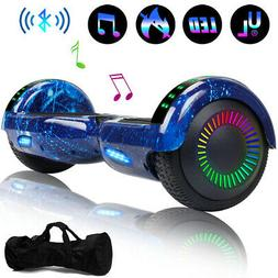 Bluetooth Hoverboard Two-Wheel Self Balancing LED Scooter Fl