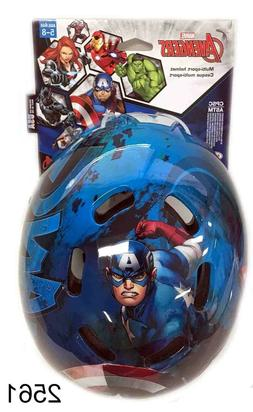Bell Boys Bike Scooter Skateboard Helmet Captain America Ave