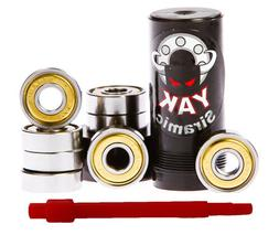 CERAMIC bearings, YAK, set of 8 - for skates, skateboards, l