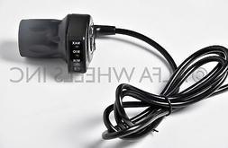 36V Half-Twist Throttle 5 wire w indicator f razor electric